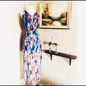 Rory Beca • Silk Tie Dye Maxi Dress